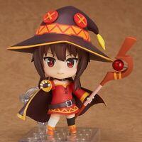 High Quality Anime Nendoroid 11cm Konosuba MEGUMIN PVC Action Figure No Box TOYS