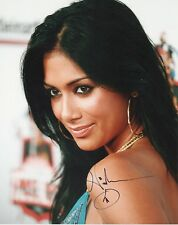 NICOLE SCHERZINGER Signed 10x8 Photo PUSSYCAT DOLLS COA