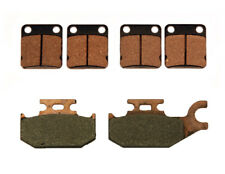 Front & Rear Brake Pads Yamaha Kodiak 400 2x4 4x4 2000 2001 2002 Semi-Metallic