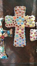 Mosaic Wall Cross Crucifix Religious Wall Crosses Art artisan made
