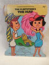 Flintstones 1975 Wonder Stand-Up Story Book Flintstones The Hat Betty & Wilma
