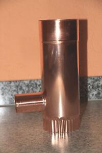 Regenwassersammler Kupfer mit 50 mm Abgang