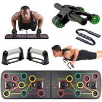 Push Up Board Band Instruction Fitness Exercise Tools GYM Body Training Stands