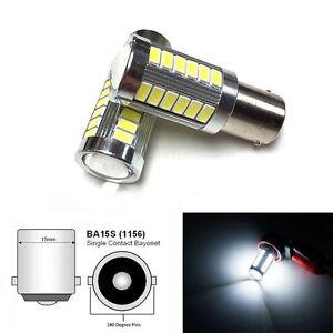 1156 33SMD LED PROJECTOR LENS 6000K BULB BACKUP REVERSE LIGHT FOR Subaru Suzuki
