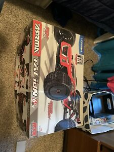 ARRMA RC ARM106048 1/8 TALION 6S 4WD Brushless Truggy - Red/Black