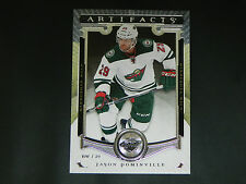 2015-16 UD Artifacts Base Card #13 Jason Pominville Minnesota Wild