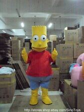 Bart Simpson Mascot Costume Fancy Dress Outfit EPE Halloween Easter Christmas UK