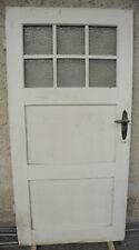 Zimmertür Tür Holztür um 1890 Tür 1,94 x 96 cm mit Sprossen und Orginalglas