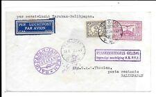 NEDERLAND INDIES FLIGHT COVER TARAKAN - BALIKPAPAN