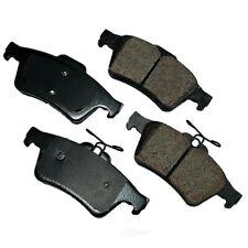 Disc Brake Pad Set-Euro Ultra Premium Ceramic Pads Rear Akebono EUR1095