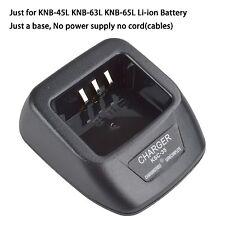 KSC-35 Li-ion Charger Base no power supply for Kenwood TK2212 TK2300 TK2302VK