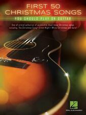 First 50 Christmas Songs You Should Play on Guitar Sheet Music Guitar  000147009