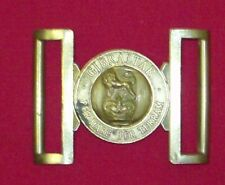 Royal Marine belt buckle