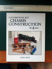 More details for locomotive kit chassis construction in 4mm   iain rice    wild swan 1993