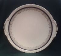 JOHNSON BROTHERS OLD ENGLISH CAKE PLATE IRONSTONE CAKE SERVING PLATTER IN BLUE