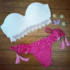 Womens Push-up Bikini Set Triangle Swimsuit Swimwear Brazilian Bathing Suit L