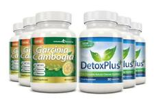 Garcinia Cambogia Detox Cleanse Combo 1000mg 3 Month Supply Evolution Slimming