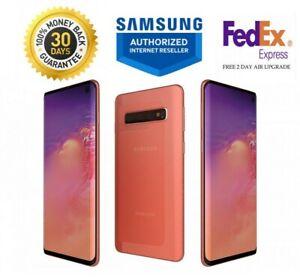 SAMSUNG GALAXY S10 G973U 128GB PINK UNLOCKED VERIZON T-MOBILE AT&T 2 DAY FEDEX
