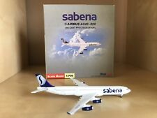 Sabena Airlines Airbus 340-300 1:500 Scale Model By Starjets!