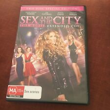 SEX AND THE CITY DVD. THE MOVIE, EXTENDED CUT. 2 DISC SET