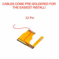 Game Boy Advance GBA Mod Cable Backlight Adapter 101 32 PIN BRIGHTNESS SWITCH!