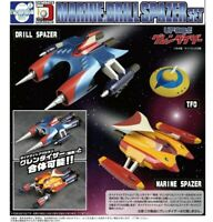 EVOLUTION TOY DYNAMITE ACTION MARINE SPAZER & DRILL SPAZER SET for GRENDIZER NEW
