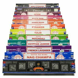 Satya Sai Baba Nag Champa Assorted Mixed Incense Sticks Fragrance Agarbatti 180g