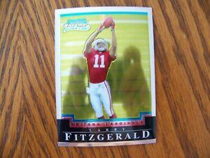 2004 Bowman Chrome Larry Fitzgerald rookie card #118 - Cardinals - great card