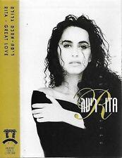 RITA GREAT LOVE CASSETTE ALBUM ISRAEL POP Ballad Folk World AHAVA GDOLA
