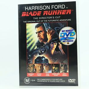 Blade Runner Directors Cut Harrison Ford DVD Good Condition Free Tracked Post