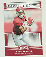 2020 Panini Contenders Draft #8 HENRY RUGGS III RC Rookie Crimson Tide Raiders