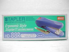 MAX STAPLER HD-88R with staple remover (Blue)