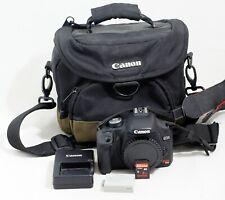 Canon EOS Rebel T1i 15.1MP Digital SLR Camera Body ONLY 4K SHUTTER COUNT