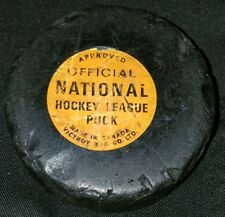 NATIONAL HOCKEY LEAGUE NHL OFFICIAL GAME PUCK VINTAGE VICEROY  CANADA