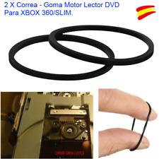 2 X CORREA - GOMA- BANDA ELASTICA MOTOR LECTOR DVD PARA XBOX 360 / SLIM