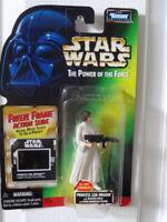 Star Wars The Power Of The Force Freeze Frame PRINCESS LEIA ORGANA/Blaster Rifle