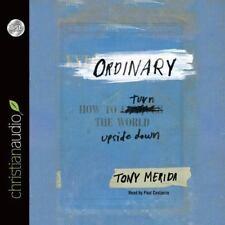 Ordinary:How to Turn the World Upside Down, Merida, Tony AUDIOBOOK 4 CD's NEW
