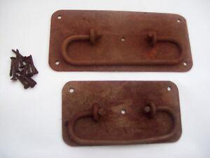 2 sizes Rustic Chest Trunk Coffer Locking Handle Plain