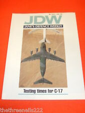 JANES DEFENCE WEEKLY - C-17 - MAY 9 1992 VOL 17 # 19
