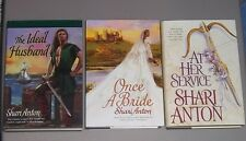 LOT Shari Anton THE IDEAL HUSBAND ONCE A BRIDE AT HER SERVICE Hardcovers