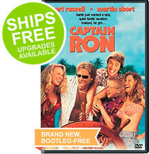 Captain Ron (DVD, 2002) NEW, Sealed, Kurt Russell, Martin Short Comedy
