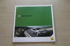 171888) Renault Clio + Clio Grandtour Prospekt 01/2008