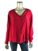 Reformation Blouse XS / S Urban Renewal Silk V Neck New NWT Shirt Womens Top