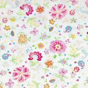 Pottery Barn Kids Organic Cotton Pillowcase Sham Garden Party Pink Floral