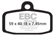 FIT SHERCO  ST 305 (2T/Formula Calipers) 13>15 EBC FRONT SINTERED BRAKE PADS