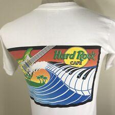 Vtg 90s Hard Rock Cafe Unisex Adult T Shirt Xs/S Miami Tee Guitar Piano Tour