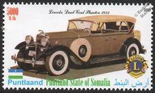 1932 LINCOLN DUAL COWL PHAETON Car Automobile Stamp