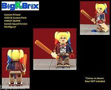 HARLEY QUINN Suicide Squad DC Custom Printed LEGO & Custom Parts Minifigure