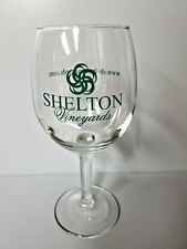 Shelton Vineyards Dobson North Carolina stemmed Wine Glass