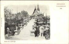 1900 Paris Expo Universelle - Palais du Cambodge Cambodia Postcard